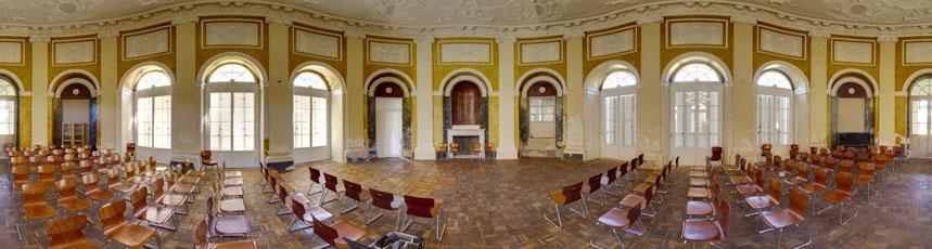 Telemannsaal Wilhelmsthal Panorama